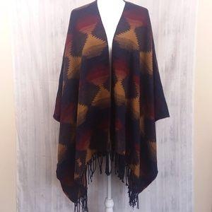 Forever 21 southwestern pattern shawl